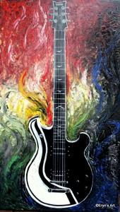 Eryn's Art Guitar