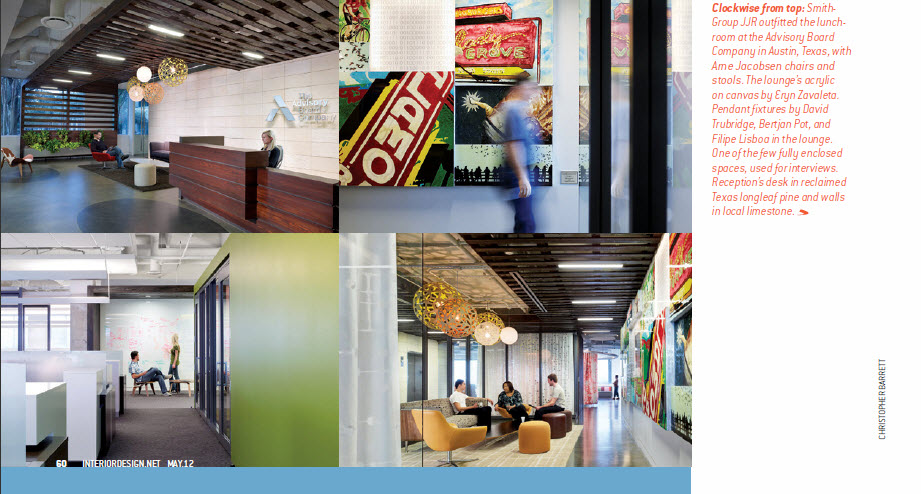 Interior Design magazine May 2012